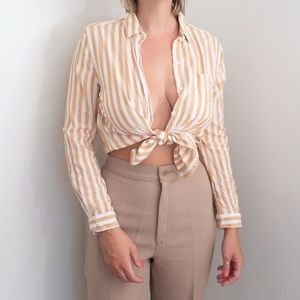 3 for $20 Striped Button-up Shirt